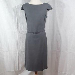 United Colors of Benetton gray midi straight dress